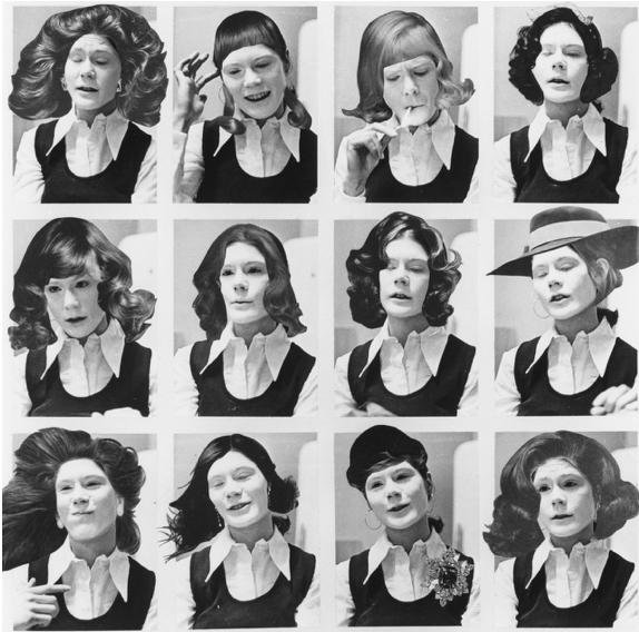 Suzy Lake, Miss Chatelaine, 1973.
