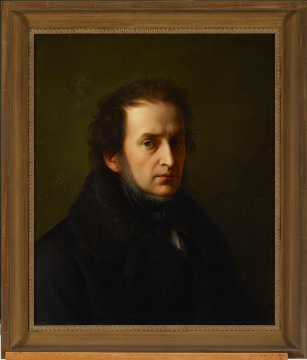 wilhelm-von-schadow-self-portrait