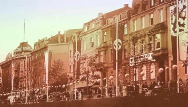Nazi Düsseldorf Königsallee im Nationalsozialismus