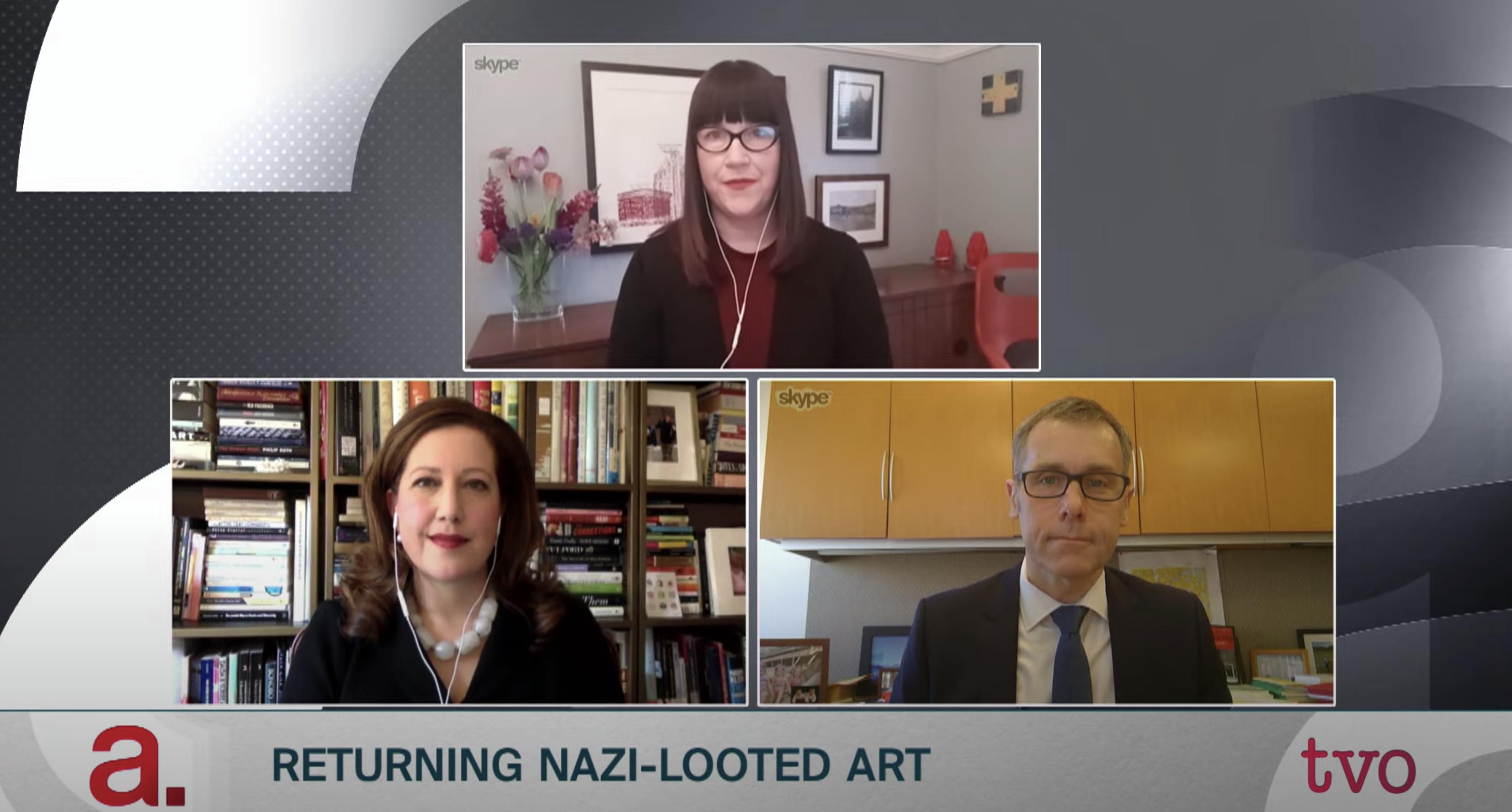 Sara-Angel-The-Agenda-with-Steve-Paikin-Returning-Nazi-Looted-Art-Panelists